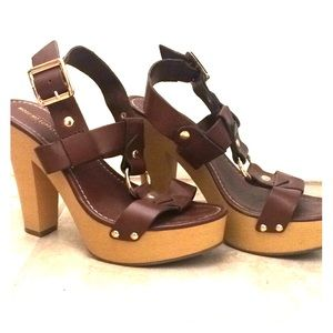 Brown Mossimo Supply Co. Heels
